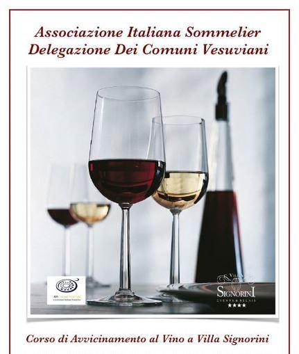Da Settembre 2016 Corso di avvicinamento al Vino a Villa Signorini!!!
