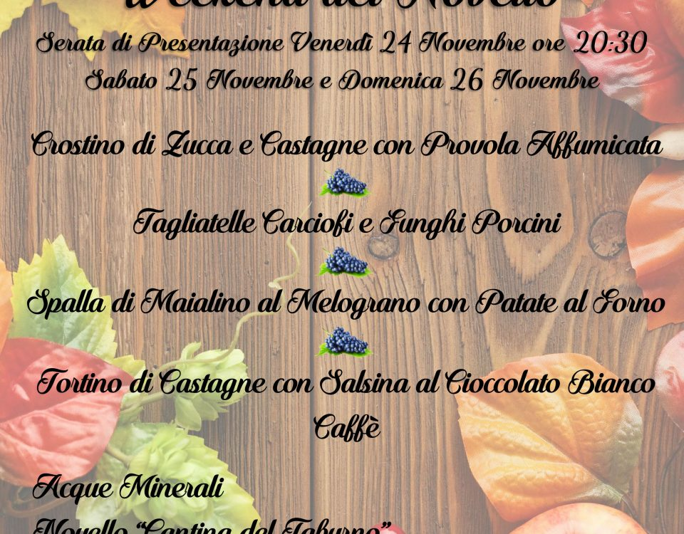 WEEKEND DEL NOVELLO